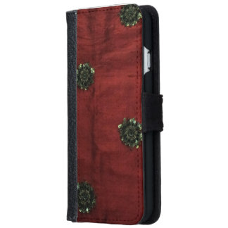 Red iPhone 6/6s case iPhone 6 Wallet Case