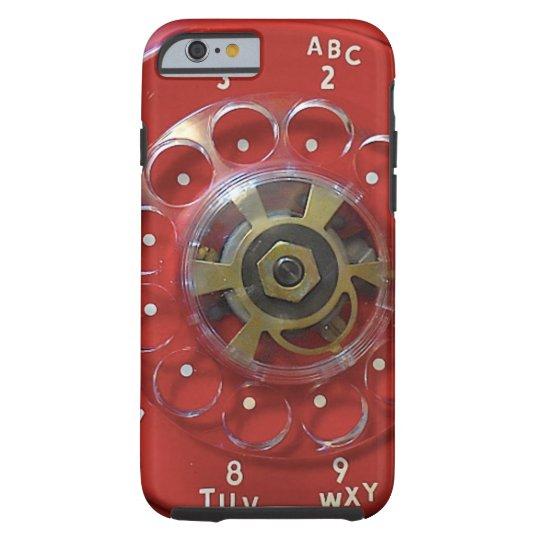 """Red Iphone 6 Case"" Tough iPhone 6 Case"