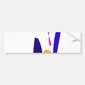 Red Iris Bumper Sticker