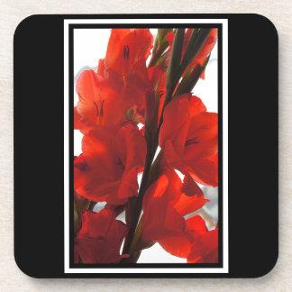 Red Iris Coaster