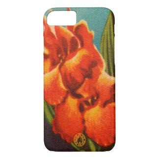 Red Iris iPhone 7 Case
