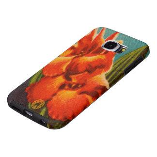 Red Iris Samsung Galaxy S6 Cases