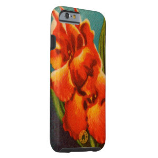 Red Iris Tough iPhone 6 Case
