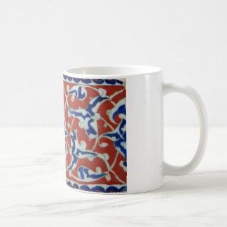 Red Iznik Turkish Tile Ottoman Empire Coffee Mug