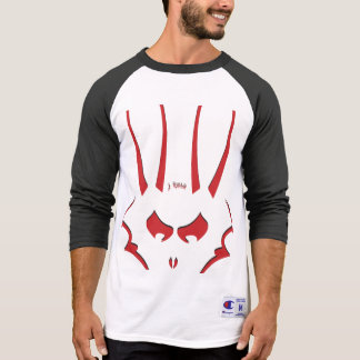 Red J.Rabbit Logo 3/4 Sleeve Shirt