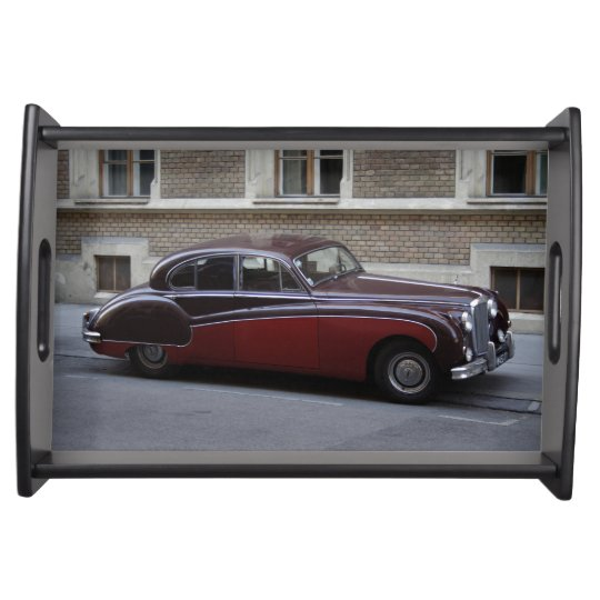 Red Jaguar Mark IX Serving Tray
