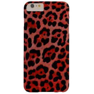 Red Jaguar Print Case