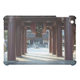 Red Japanese Paper Lantern iPad Case