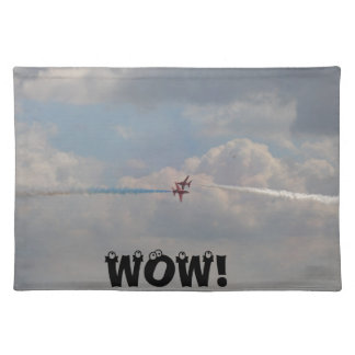 Red jets close shave, WOW Place Mats