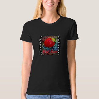 Red Juice Fitted Organic T-shirt