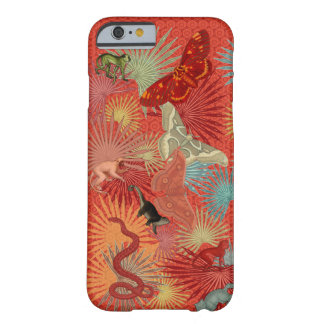 'Red Jungle', part I (with Monkeys) Barely There iPhone 6 Case