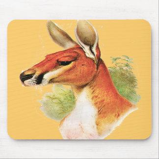 Red Kangaroo Mousepads