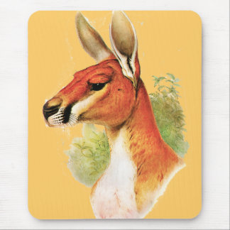 Red Kangaroo Mouse Pad
