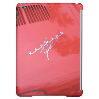 Red Karmann Ghia Vintage Classic Car