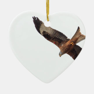 Red Kite In Sky Christmas Ornament