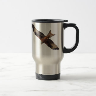 Red Kite In Sky Travel Mug