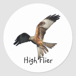 Red Kite - Milvus milvus Round Sticker