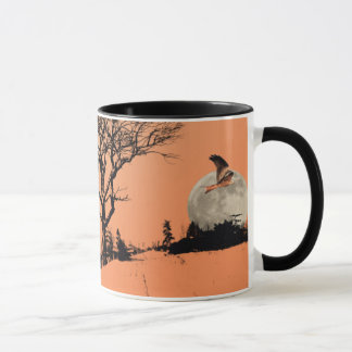 Red Kites in the Wooded Landscape Mug