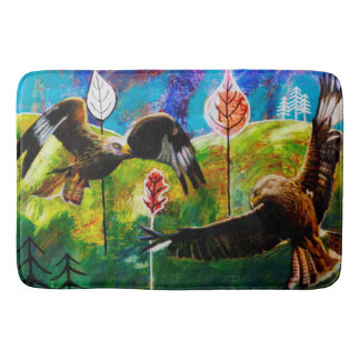 Red Kites of Wales Bathmat