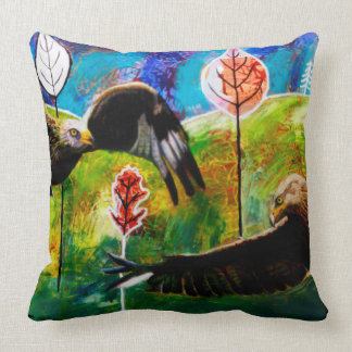 Red Kites of Wales Cushion