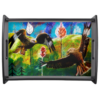 Red Kites of Wales Tray