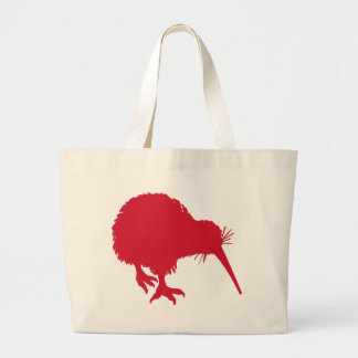 Red Kiwi Large Tote Bag