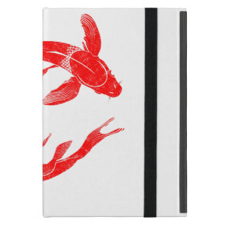 Red Koi Fish Carp iPad Mini Case