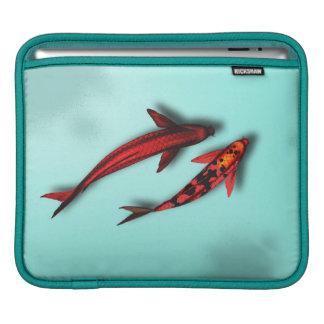 Red Koi Fish iPad Travel Sleeve Sleeves For iPads