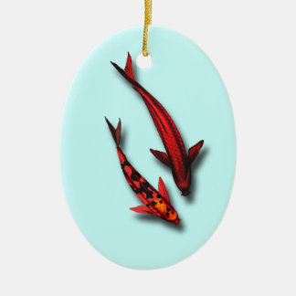 Red Koi Fish Ornament