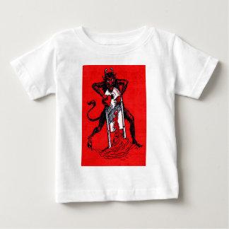 Red Krampus Slicing Heart Heartbreaker T-shirt
