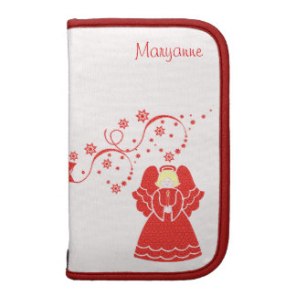 Red Lace Angel Planners
