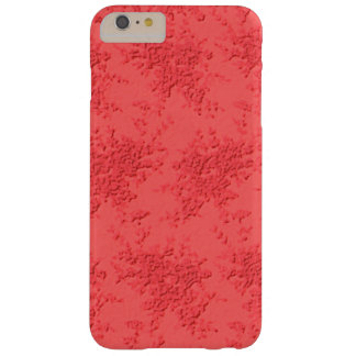 Red Lace Barely There iPhone 6 Plus Case