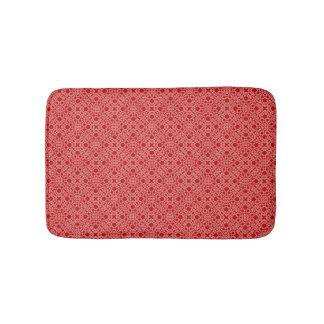 Red Lace Bath Mat Bath Mats