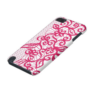 Red lace iPod touch 5G case