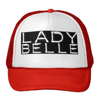 """Red """"Lady Belle"""" Trucker Hat"""