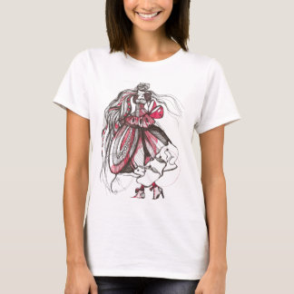 red lady T-Shirt