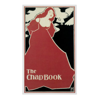 Red Lady ~ The Chap Book Poster