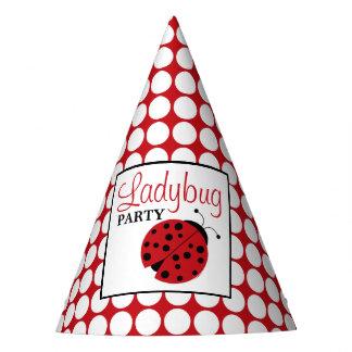 Red Ladybug Children's Birthday Party Hat
