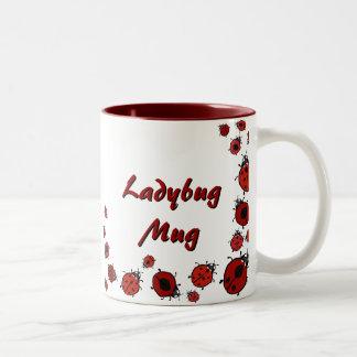 Red Ladybug Mug