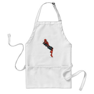 Red Lantern Corps - Rage Leaning 2 Standard Apron