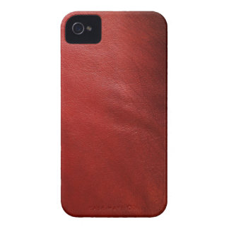 Red leather design iPhone 4 Case-Mate case
