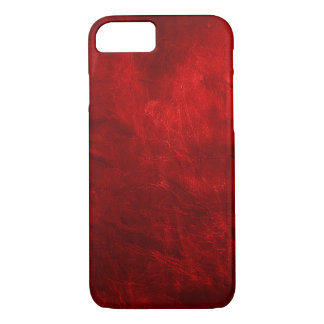 Red Leather iPhone 7 Case