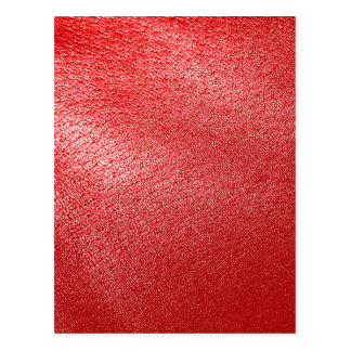 Red Leather Look Postcards