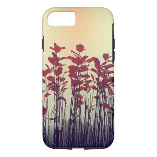 Red Leaves Autumn Bush iPhone 7 Case