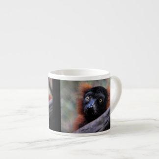 Red Lemur Wildlife Animal Photo Espresso Mugs