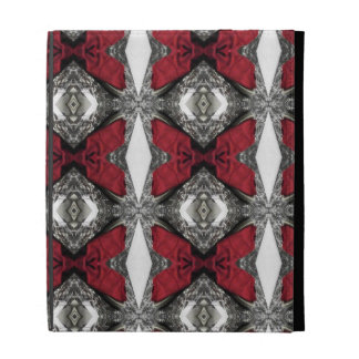 Red Lens Pattern iPad Folio Cover