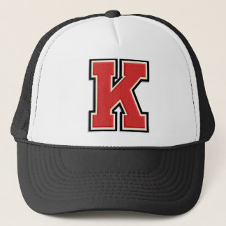 "Red Letter ""K"" Initial Cap"