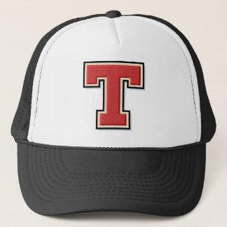 Red Letter T Trucker Hat