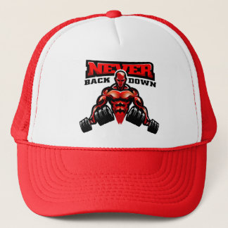 Red Liftr Trucker hat