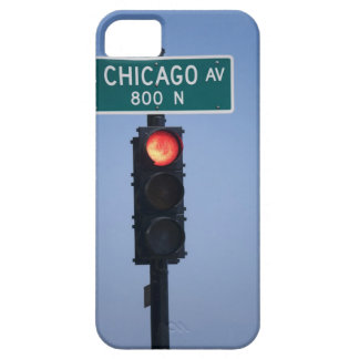 Red light, Chicago Illinois, USA Barely There iPhone 5 Case